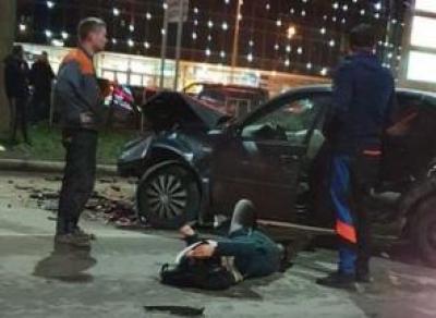 Мать с ребёнком пострадали в Вологде