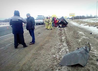 Водитель иномарки погиб от столкновения с бензовозом
