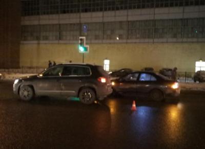 Иномарка сбила пешехода-нарушителя в Вологде