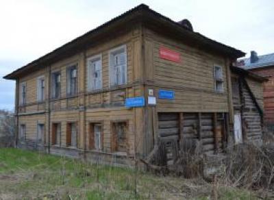 В Вологде заброшенный дом признали выявленным памятником архитектуры