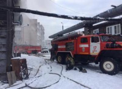 Пожар в Соколе: погибла женщина