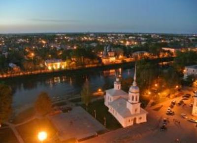В течение одного часа вологжане смогут насладиться видом ночного города с Колокольни