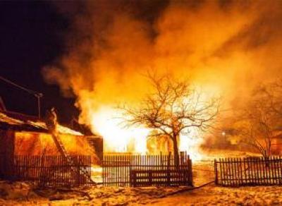 Сильнейший пожар в Вологодском районе