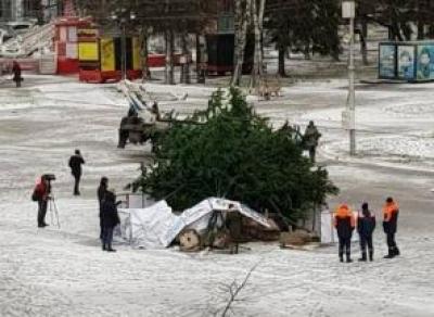В Вологде готовятся к Новому году