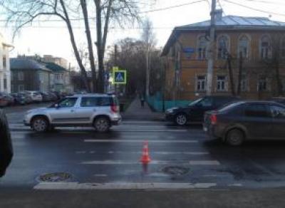 Вологжанка попала под колеса «Шкоды» в центре областной столицы
