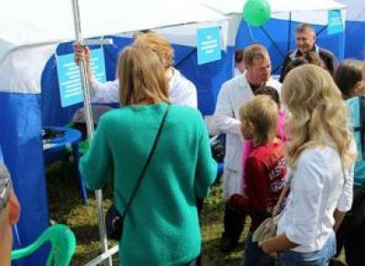 «Городок здоровья» пройдет на этой неделе в Вологодской области