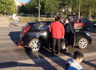 Вологжанка сбила на «зебре» школьниц в Вологде