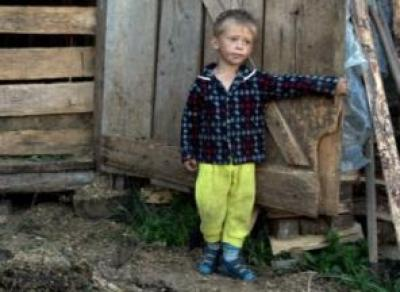 Женщина выгнала детей жить в сарае
