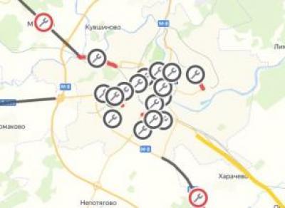 Создана карта ремонта дорог Вологодчины