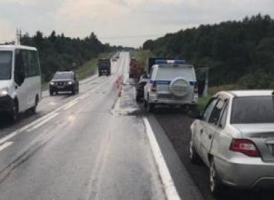 В Череповецком районе сбили дорожных рабочих