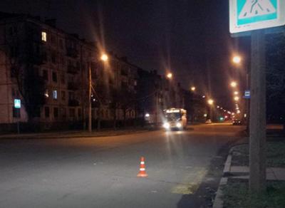 Иномарка сбила 55-летнюю череповчанку на пешеходном переходе
