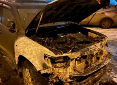Сожгли машину криминального авторитета