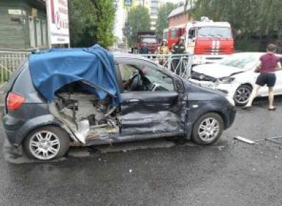 Мальчик пострадал в ДТП на ул. Панкратова