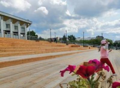 В Череповце построили амфитеатр