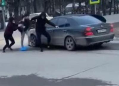 Устюжане разыграли похищение человека (видео)