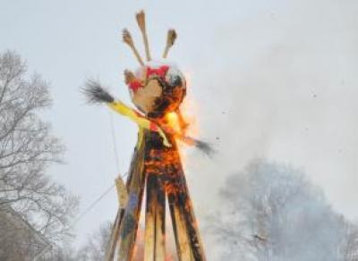 В Вологде начались приготовления к Масленице