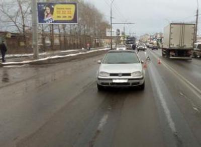 Сокольчанин попал под машину в Вологде