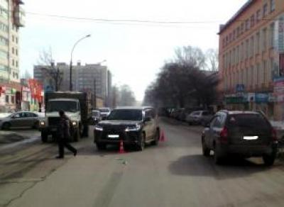 В Вологде «Lexus» сбил на пешеходном переходе пенсионерку