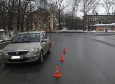 На ул. Карла Маркса сбили женщину с ребенком