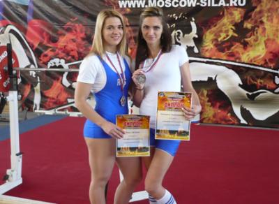 Череповчанки завоевали две серебряные медали на Всероссийских соревнованиях по пауэрлифтингу