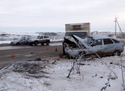 ДТП с участием четырех автомобилей произошло накануне в Вологде