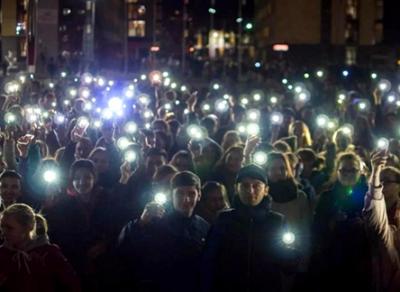 «Бегущие огни» сегодня вечером зажгутся в центре Вологды