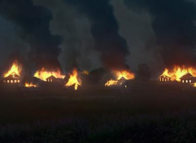 Искусство требует жертв: фотограф сжег ради снимков целую деревню