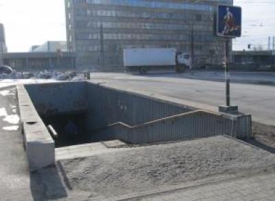 В Майском начали копать подземный пешеходный переход