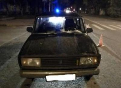 Водитель без прав сбил людей на переходе