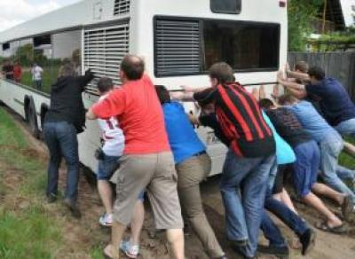 В Вологде автобусный маршрут некому обслуживать