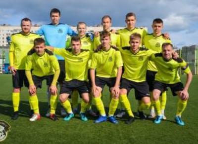 Футболисты «Череповца» стали чемпионами Вологодской области