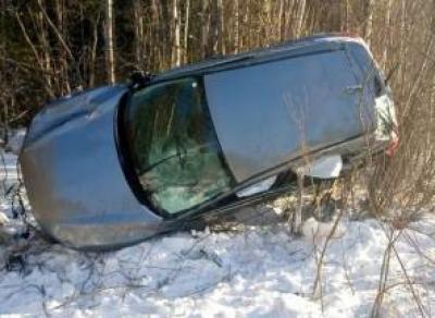 Петербурженка пострадала на вологодской трассе