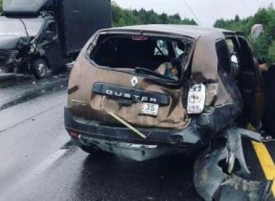 Две одинаковые аварии случились за час