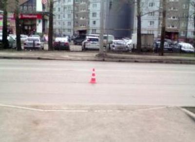 В Вологде на пешеходном переходе сбили 9-летнюю девочку