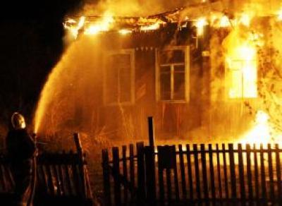 Пьяная вологжанка устроила пожар в доме знакомого