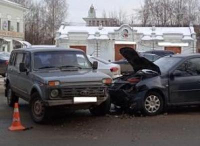 Вологжанка попала в больницу после ДТП