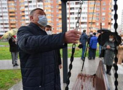 Рождественский парк достроили в Вологде