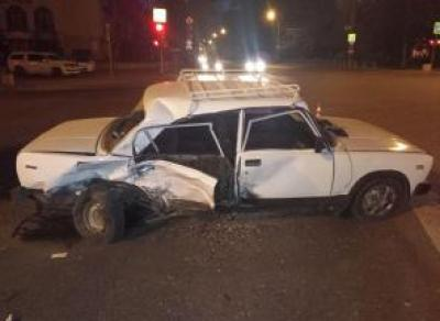 2 человека пострадали в ДТП в центре Вологды