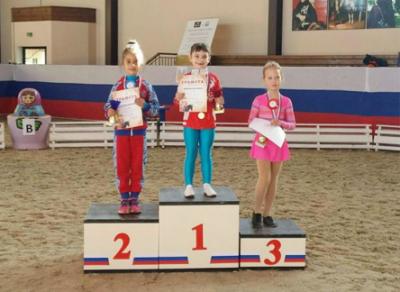 Череповецкие спортсмены завоевали три медали на Кубке России по вольтижировке