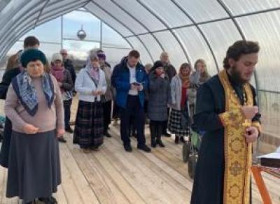 В Вологде построили теплицу для молитв