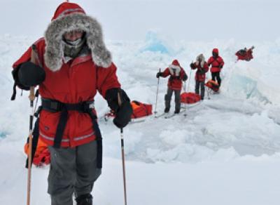 На Северный полюс вологодский кадет отправится на лыжах