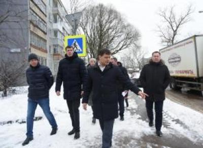 Сергей Воропанов оценил работу подрядчика