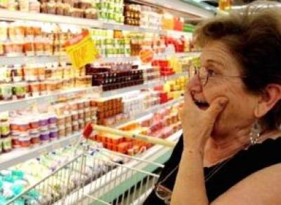Рекордную инфляцию отметили в России