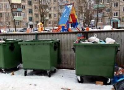 Вологжан лишат мусорных контейнеров