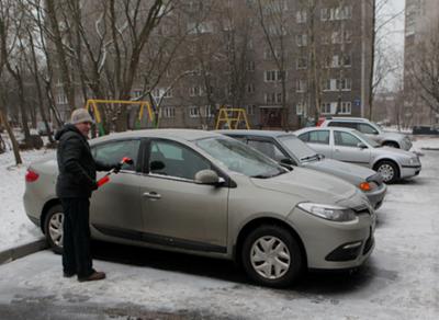 В городе металлургов идет дележка парковочных мест