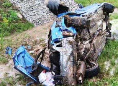 Жёсткая авария в Вытегорском районе