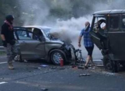 Страшная авария в Грязовецком районе