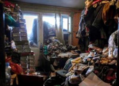 Жуткую квартиру нашли в Соколе