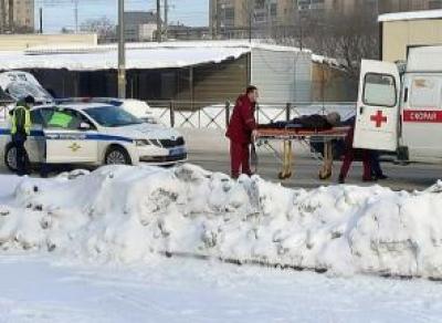 Пешехода жёстко сбили на ул. Можайского