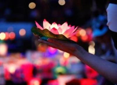 Вологжане сегодня смогут загадать свое заветное желание: фестиваль водных фонариков пройдет в парке Ветеранов